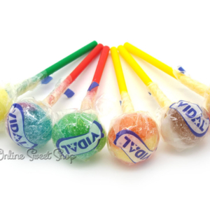 Vidal: Lottalollies Super Sour Lollipops-0